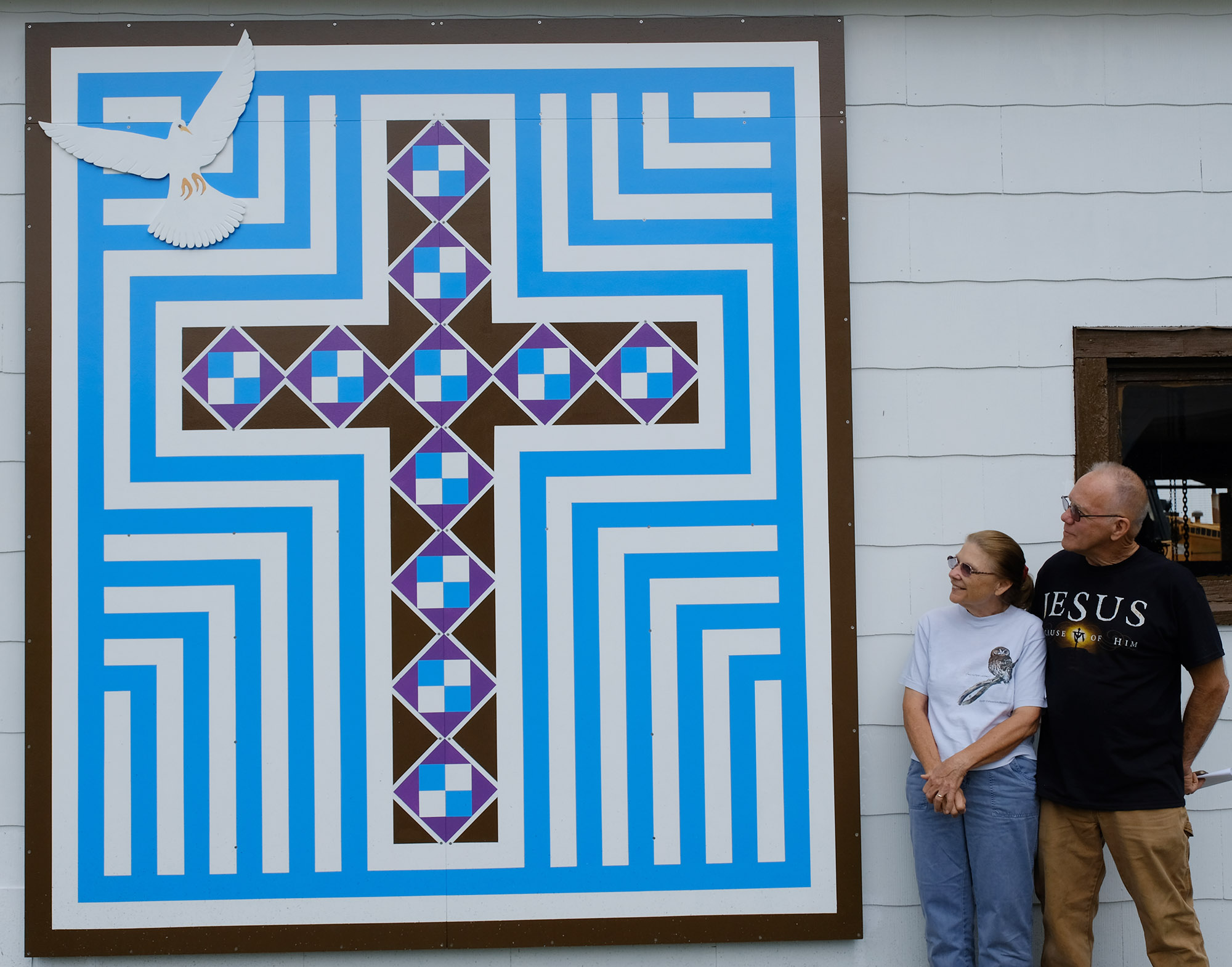End of Line Junction Barn Quilt